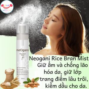Xịt Khoáng Cám Gạo neOgani Rice Bran Mist